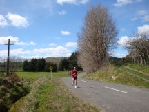 The beauty of the surroundings is enough to keep one trotting along happily despite sore legs.