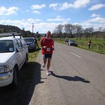 Gerry's arrival marking the start of my short sharp climbing leg.