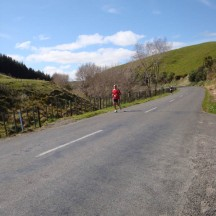 Leg 8. By now the downhill sections were very welcome.
