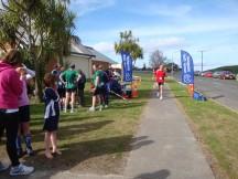 Yeah! The finish in Wanganui.