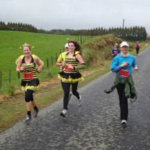 These chirpy bees livened up the atmosphere for all who were in the area. We recently attended the Rollar Derby held in Palmy and the Taranaki team are known as the The Taranaki Rollar Corps Rumble Bees. We were wondering if these two are part of the team?