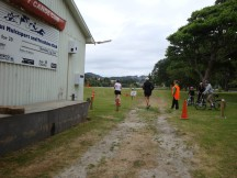 urn around point for the 10km runners.