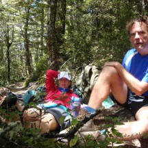 A quick break in the Beech forest.