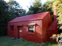 Waihohonu historical hut.