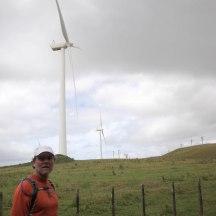 Wind Farm lookout.