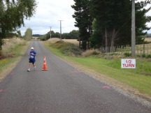 Me at the turn.