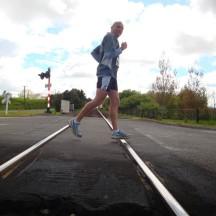 Harry op die tremspoor!