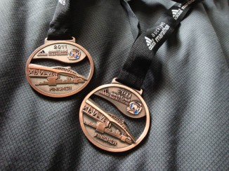Medals! The first time ever out of all the events we've done in NZ so far.