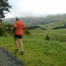 Running in such wonderful hill country makes the miles go by in a flash.
