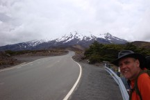 A 3 plus km slog up the Ohakune Mountain Road.
