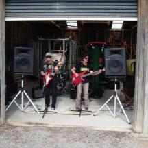 """Garage"" band."
