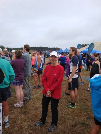 Me shortly before the start.