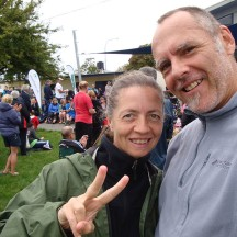 Number two done! We achieved our goal of back-to-back half marathons for the weekend.