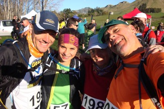 Johann, Nettie, me and Gerry shortly before the start.