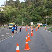 The turn around point at Scorching Bay.