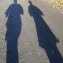 Follow the shadows.