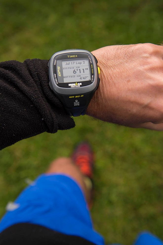 My Timex Ironman Run Trainer 2.0 GPS. A treasure trove of useful, realtime running info.