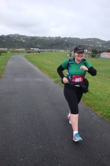 We spotted another Manawatu Strider on the course.