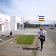 The last few kilometres are run in the streets of Waipukurau.