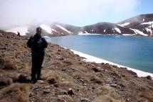 Gerry at Blue Lake.
