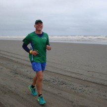 Gerry donned his Manawatu Striders shirt, but we spotted no other club members around.