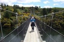 Another crossing on a swing bridge.
