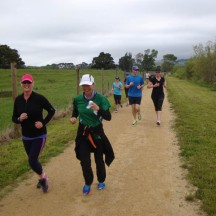 Could only catch up with fellow Strider, Sheryl, around the 3km mark.