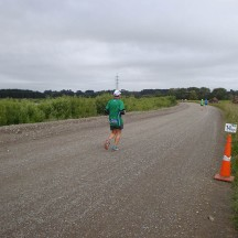 Easy going on the gravel roads around Higgins.