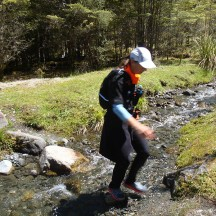 A little stream crossing.
