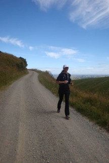 For the most part, the route consists of very well-maintained gravel roads.