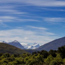 View of Mount Aspiring on a beautiful New Year's Day. (© Gerry le Roux)