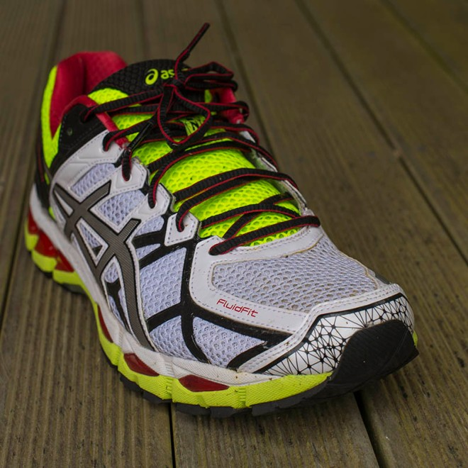 The Asics Gel-Kayano 21 - a high-end running shoe offering runners a plethora of features to provide stability, cushioning and protection.