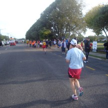 Approaching the halfway mark at Inglewood.