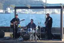 Jazzy entertainment around the bays.