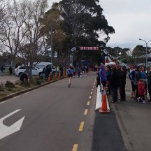 The race features a nice long, straight sprint to the finish.