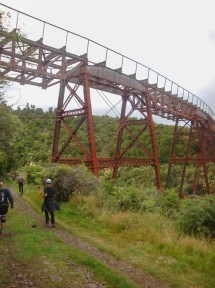 Remnants of the Taonui viaduct.
