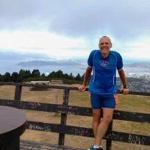 At the top of Mt Kaukau with stunning 360 degree views.
