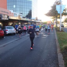 The first incline as you run down along Rotorua's main streets.
