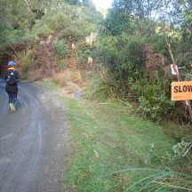 Whenever we saw these signs we knew there was some exciting obstacle ahead...