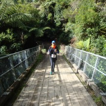 Many parts of the route looked completely unfamiliar, including this bridge.