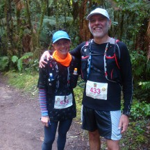 Taking a photo-break about 3km from the finish. Thanks for offering to take the photo, Chris!