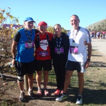 The 5-in-5-in-5 team: Graeme, Rob, me and Gerry.
