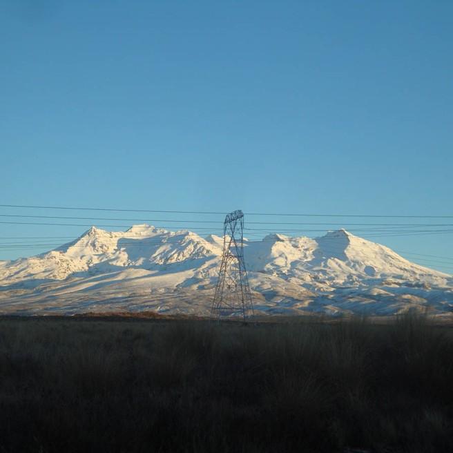 Beautiful Mt Ruapehu.