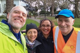 And what a wonderful treat to be joined by Graeme (all the way from Whanganui) and June!