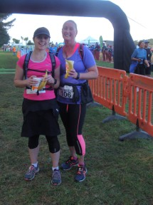 Well done, Cheryl, on completing your first marathon! And Steph for running the whole way with her! As Patricia said - welcome to the marathon club. :-)