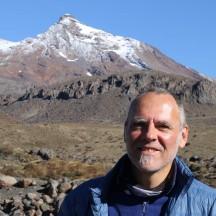 Portrait #23. Mt Ruapehu in the back.