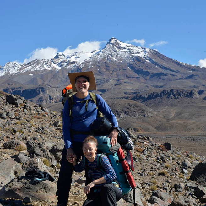 We were lucky to have three beautiful days at the foot of Mt Ruapehu.