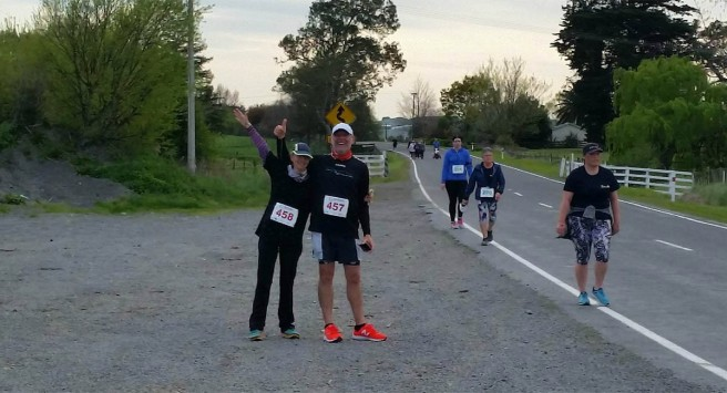 Photo by Nicole Patterson. After about 7km, things were still going well.