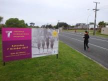 This is the inaugural Tauranga International Marathon.
