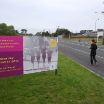 This is the inaugural Tauranga International Marathon.